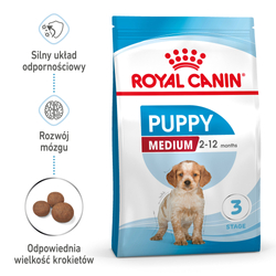 ROYAL CANIN Medium Puppy 2x15kg