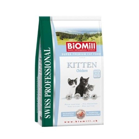 BIOMILL Swiss Professional Kitten Chicken & Rice 2x10kg