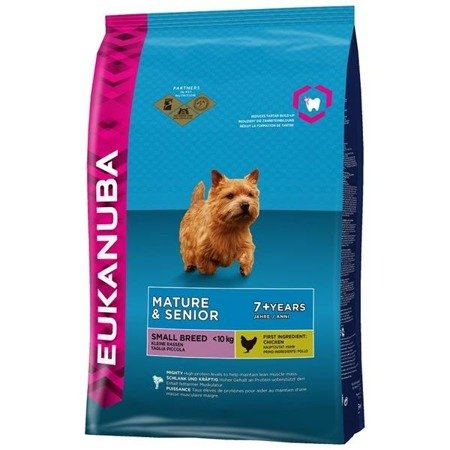 EUKANUBA Mature & Senior 7+ Small Breed Maintenance 1kg